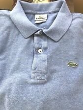 Lacosta  Rugby Polo Long Sleeve * BLUE * Sz 6 * Preowned