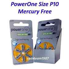 Varta PowerOne P10 Hearing Aid Battery mercury free (60 count) Expire 06/2019