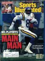 SPORTS ILLUSTRATED JANUARY 18 1988 ANTHONY CARTER