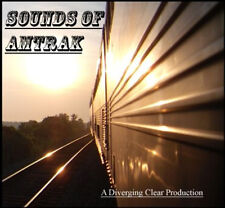 Train Sound CD: Sounds of Amtrak - Trackside and On Board