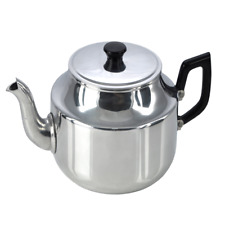 Pendeford Traditional Teapot, 1.4L Traditional Old Fashioned Aluminium Tea Pot