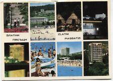 Alte Postkarte - Impressionen von Slatni Pjasatzi
