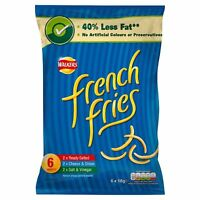 Walkers French Fries Variety (6X18g) 6 PACKS UK MADE NOT IMPORTED