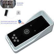 1x GSM 4G Wireless Audio Intercom Gate Door Opener Security Free Call Self-test