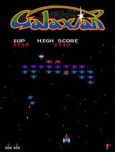 Galaxian classic 80s METAL WALL sign PLAQUE retro gaming man cave games room bar