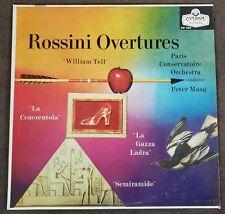 Rossini Overtures/William Tell/La Gazza Ladra/Maag UK London ffrr CM9257 EX