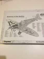 Haynes - Anatomy of the Spitfire 1936  -1000 pcs Jigsaw Puzzle,+ Poster ,HARD!!