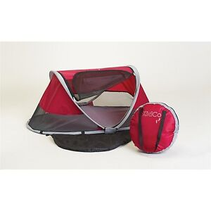 KidCo Pea Pod Infant/Child Travel Bed in Cranberry