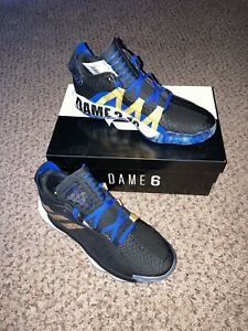 Adidas Dame 6 Stone Cold Size: US Men 11