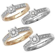 Markenlose Echte Diamanten-Ringe für Verlobung und Damen