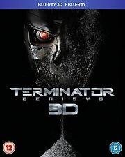 TERMINATOR GENISYS 3D Blu ray SEALED/NEW The Film/Movie genesis 5053083054496 5