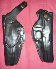 Black Leather RH Holster for Tokarev TT-33, M57, TTC, Norinco, Zastava M70A ,New