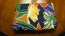 "Liz Claiborne - Cosmetic Case - Bright Multi-Color- 8 x 5 x 1 1/2 - New"" -"