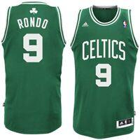 NBA Jersey Boston Celtics Rajon Rondo Jersey Revolution30 swingman Green