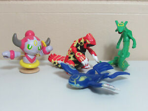 Pokemon McDonald's Lot of 4 2015 Rayquaza Kyogre Groudon Hoopa