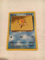 Staryu 65/102 Base Set Pokémon Card, NOS Set Of 2