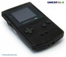 GameBoy Color - Konsole #Clear-Black Eiden Limited Edition sehr guter Zustand