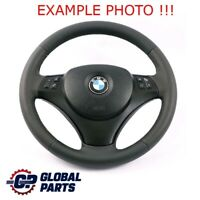 BMW 1 3 E81 E82 E87 E88 E90 E91 E92 E93 NEW Leather M Sport Look Steering Wheel