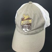 Ducks Unlimited Ducks University Khaki Trucker Mesh Adjustable Hat Cap Hunting
