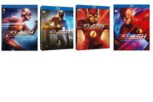 The Flash - Stagioni 1 - 4 (16 Blu-Ray) - ITALIANI ORIGINALI SIGILLATI -