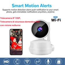 Telecamera IP WiFi Videocamera di Sorveglianza Domestica con Audio Bidirezionale
