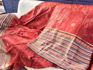 Bassetti Maco Satin Bettwäsche Gradara R1 rot 135x200cm K 80x80 Set Lim. Edition