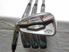 Used LH Callaway Apex Pro 16 Iron Set 7-PW Project X Steel Stiff Flex S-Flex