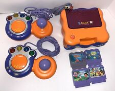 """""""V-TECH V-SMILE TV LEARNING SYSTEM W/4 GAMES & 2 CONTROLLERS"""""""