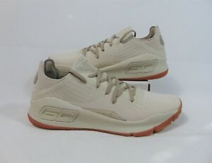 Under Armour UA Curry 4 Low Tan & Gum Basketball Shoes Sz 14 NEW 3000083 103
