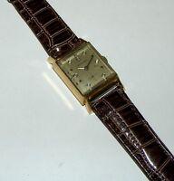 Vintage  Original  Longines 14K Solid Gold Diamond  Dial Watch LOT111