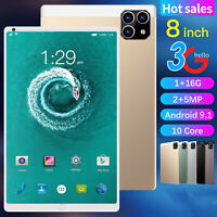 8 Inch 1+16G Android 9.1 Dual Sim Phone Pad Tablet PC Phablet Tab IPad 3G / WIFI
