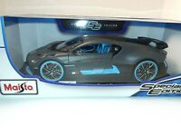 Maisto 2020 Bugatti Divo Special Edition 1:18 Exclusive Style Replica NEW