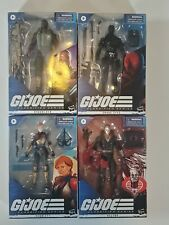 Lot Of 4 GI Joe Classified Figures