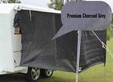 PREMIUM Jayco Expanda / Coromal Bagged Bed Flys (both ends) - Charcoal Grey