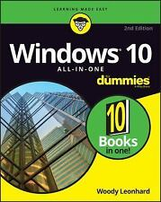Windows 10 All-in-One for Dummies 10 bks. in 1 by Woody Leonhard (2016,...