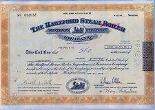 The Hartford Steam Boiler Inspection Insurance Company Stock Certificate