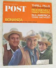 SATURDAY EVENING POST - BONANZA - Dec 4, 1965