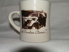 Vintage Car Image, Diner Mug,  Westford China Company Timeless Classic