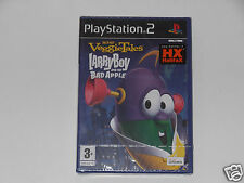 VEGGIETALES LARRYBOY AND THE BAD APPLE for PLAYSTATION 2 'VERY RARE'