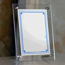 Hot Acrylic Photo Frame Certificate Family Picture Desk Display Home Store Decor