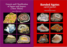 Genesis and clasification + Banded Agates. Two books Special Offer.