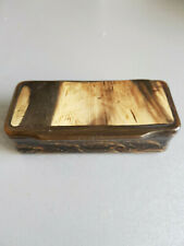 Antique Snuff Box , Horn from animal