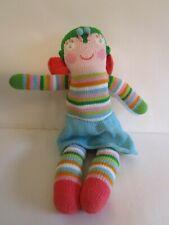 """Blabla knit butterfly toy baby 18"""" stripe skirt wings"""