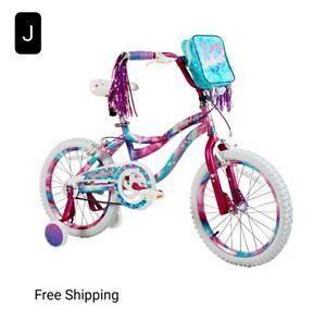 """Dynacraft 18"""" Girls Sweetheart Bike. Front & Rear Caliper Brakes. Never Used"""
