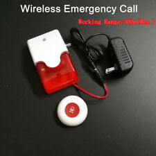 Caregiver Personal Pager System Emergency Care Alarm Call Button Nurse Alert