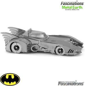 Metal Earth BATMAN Vintage 1989 Batmobile Car DIY Puzzle 3D Model Building Kit