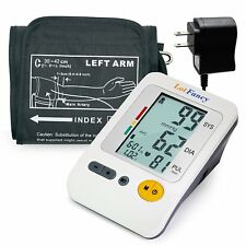 LotFancy Blood Pressure Monitor with Arm BP Cuff and Adapter 11.8 -16 Inches