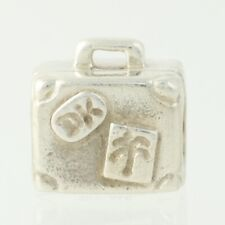 Pandora Suitcase Bead Charm - Sterling Silver 790362 Suitcase ALE 925 Travel