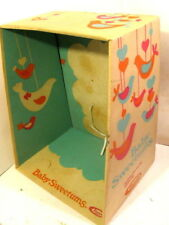 Vintage Baby Sweetums Uneeda Doll 1968 Display Box Only #U003. 13� X 16� X 7�
