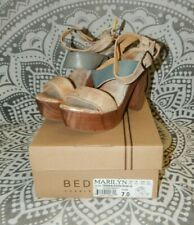 Bed Stu Marilyn Platform Sandals Size 7 NIB